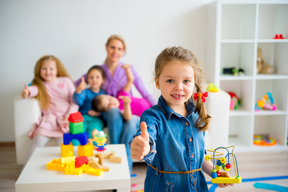 child care facility cleaning
